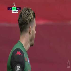 Alisson Becker save against Jack Grealish