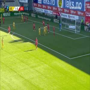 Bodø/Glimt 2-0 Brann - Kasper Junker 12'