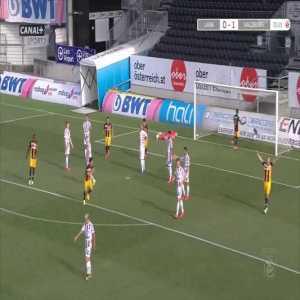 LASK 0-2 Red Bull Salzburg - André Ramalho 73'
