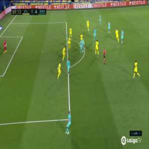 Messi disallowed Goal (1-4) vs Villarreal