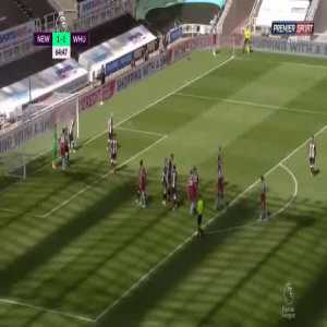 Newcastle 1-[2] West Ham - Tomas Soucek 65'