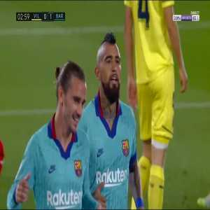Villarreal 0 - [1] FC Barcelona - Griezmann 3'