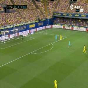 Villarreal [1]-1 Barcelona: Gerard goal 13'