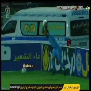 Backflip Throw-in Assists Are a Thing in the Persian Gulf Pro League. [Paykan vs Zob-Ahan]