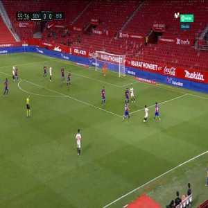 Sevilla 1-0 Eibar: Lucas Ocampos goal 56'