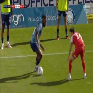 Wycombe [2]-2 Fleetwood [6-3 on agg.] - Fred Onyedinma 90'+4'