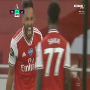 Arsenal [1] - 0 Leicester - Aubameyang 21'