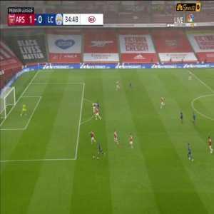 Arsenal 1-0 Leicester City - Iheanacho 35' Disallowed Goal