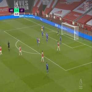 Arsenal 1 - 0 Leicester City - Schmeichel Save 31'