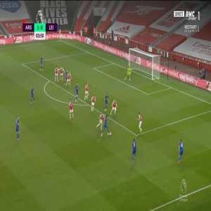 Arsenal 1 - [1] Leicester - Vardy 84'