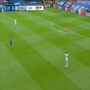 Crystal Palace 0-1 Chelsea: Olivier Giroud goal 6'