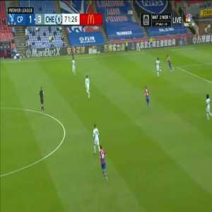 Crystal Palace [2]-3 Chelsea: Christian Benteke goal 72'