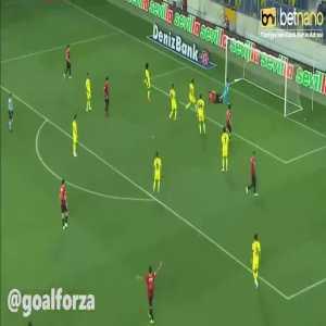 Genclerbirligi 1-0 Fenerbahce - Bogdan Stancu 60'