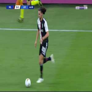 Milan 0 - [1] Juventus - Rabiot 47'