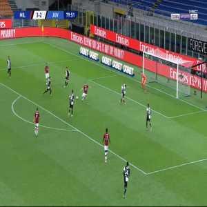 Milan [4]-2 Juventus - Ante Rebic 80'