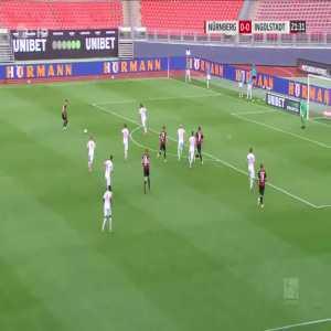 Nürnberg 1-0 Ingolstadt - Fabian Nurnberger Goal