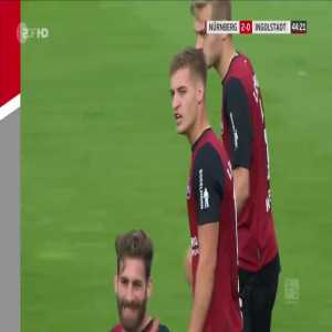 Nürnberg 2-0 Ingolstadt - Fabian Nurnberger second Goal