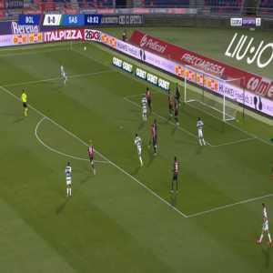 Bologna 0-1 Sassuolo - Domenico Berardi 41'
