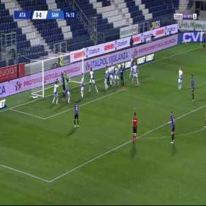 Atalanta 1-0 Sampdoria - Rafael Toloi 75'