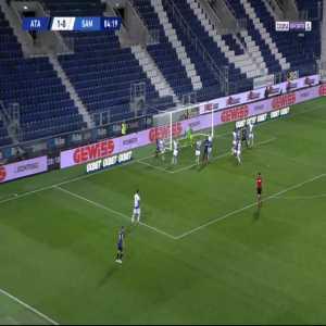 Atalanta 2-0 Sampdoria - Luis Muriel 85'