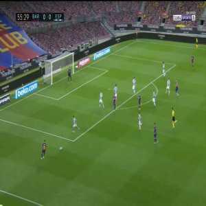 Barcelona 1-0 Espanyol: Luis Suarez goal 56'