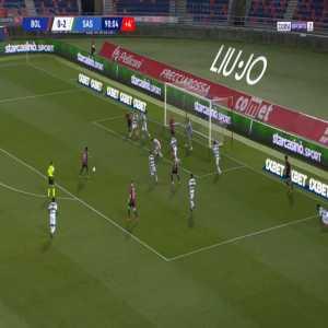 Bologna [1]-2 Sassuolo - Musa Barrow 90'+1'
