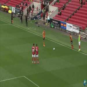 Bristol City 2-[1] Hull City: Honeyman 60'