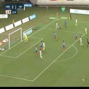 FC Tokyo 0-(2) Kawasaki Frontale - Leandro Damiao backheel goal