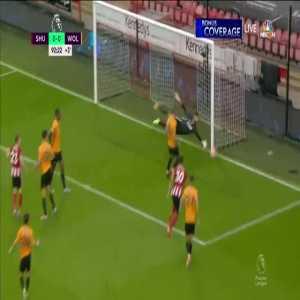 Sheffield United 1-0 Wolves - John Egan 90+3'
