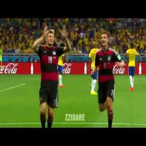 Six years ago today, Germany beat Brazil 7-1 in the semifinals to reach the World Cup final.