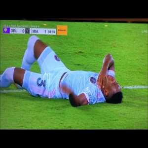 Andres Reyes scary throat injury vs Orlando City