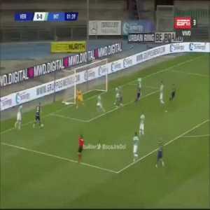 Hellas Verona [1]-0 Inter Milan: Lazović 2'