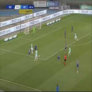 Hellas Verona 1 - [1] Inter - Candreva 49'
