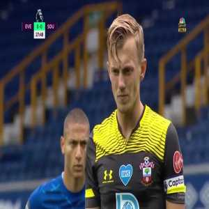 James Ward-Prowse (Southampton) penalty miss against Everton 29'