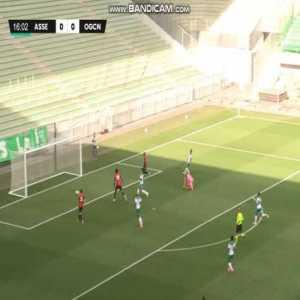 AS Saint-Etienne 0-[1] OGC Nice - Khéphren Thuram (17')