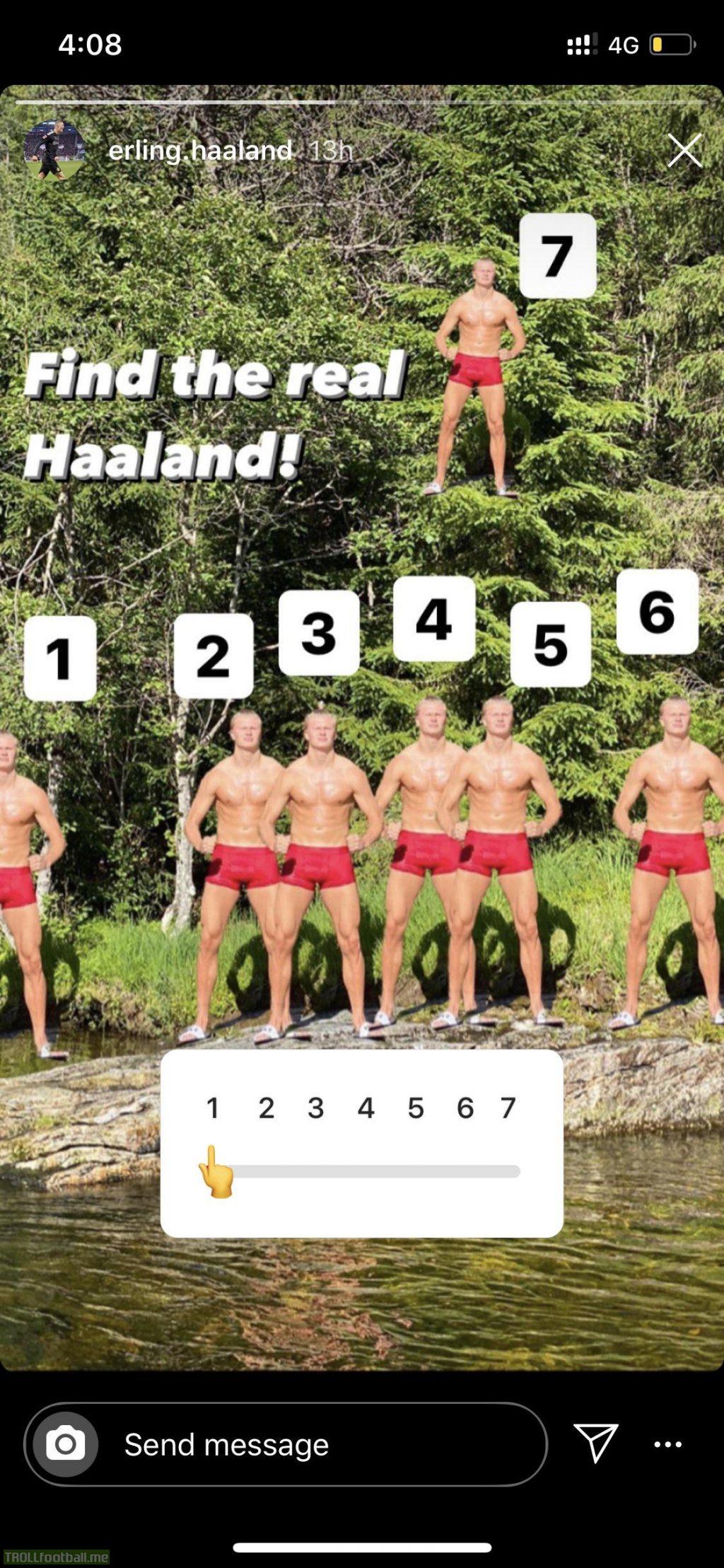 Erling Haaland...