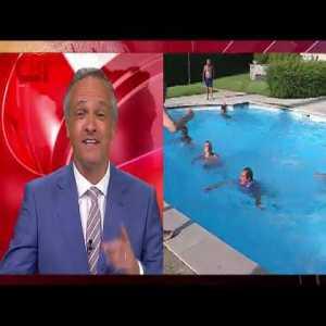 Ultras FC Porto Super Dragões throw CMTV journalist into the pool