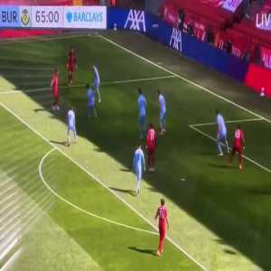 Firmino's attempt at dribbling