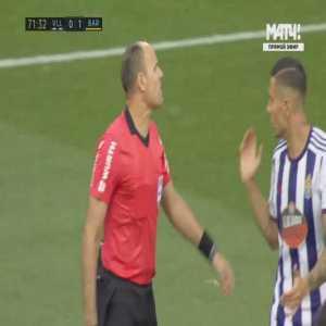 Luis Suarez (Barcelona) penalty shout vs Valladolid