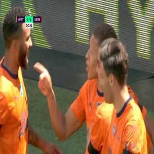 Watford 0-1 Newcastle United: Gayle 23'