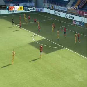 Aalesund 0-1 Bodø/Glimt - Philip Zinckernagel 14'