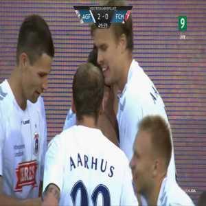 Aarhus GF 2-0 FC Midtjylland - Casper Højer