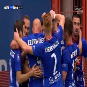 [Ekstraklasaboners] Piast Gliwice 1-0 Jagiellonia Białystok - Piotr Parzyszek 12' (Polish Ekstraklasa)