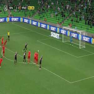 FC Krasnodar 3-0 FC Ural Yekaterinburg - Rémy Cabella panenka PK 82'