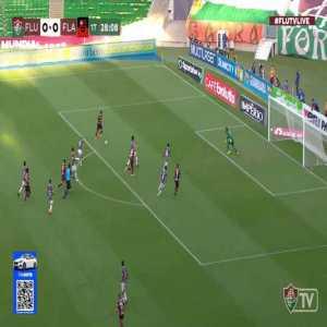 Fluminense 0 - [1] Flamengo - Pedro 29'