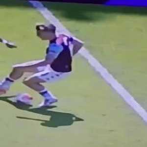 Grealish dive vs Crystal Palace