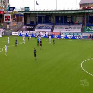 Kristiansund 1-0 Stabæk - Bent Sørmo 11'