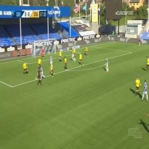 Sarpsborg 08 1-0 Start - Jonathan Lindseth 8'