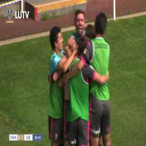 Swansea 0-1 Leeds United: Pablo Hernandez 89'