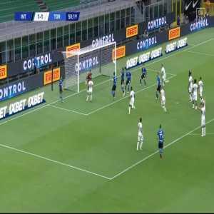 Inter [2] - 1 Torino - Godin 51'
